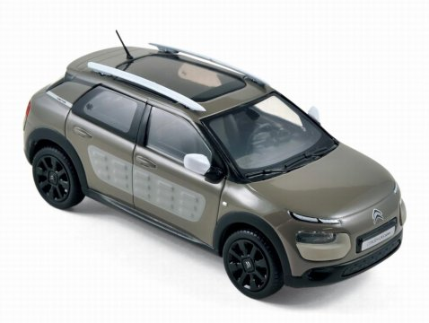 CITROEN C4 CACTUS in Olive Brown 1/43 scale model by Norev