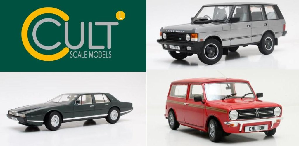 Cult Scale Models - New Announcements & Delivery Update
