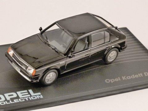 OPEL KADETT D GT/E in Black 1/43 scale model ALTAYA