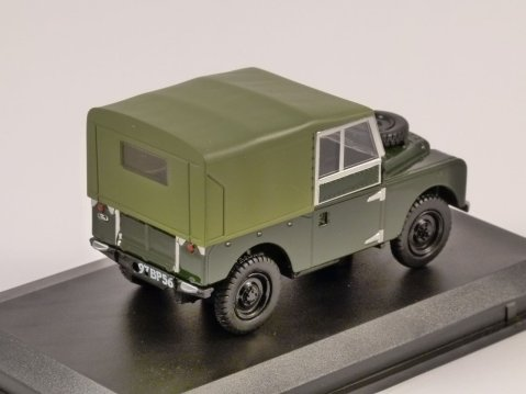 """LAND ROVER S1 """"88 Canvas Back REME 1/43 scale model Oxford Diecast"""
