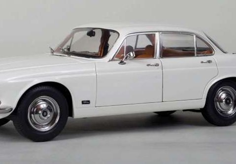 Jaguar XJ6 2.8 1971 (RHD) - White 1/18 scale model by Paragon