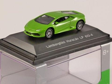 LAMBORGHINI HURACAN LP610-4 in Green 1/87 scale model WELLY