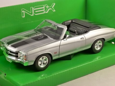 1971 CHEVROLET CHEVELLE SS 454 1/24 scale model by WELLY