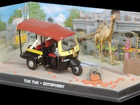 TUK TUK TAXI - Octopussy - 1/43 scale model James Bond Collection