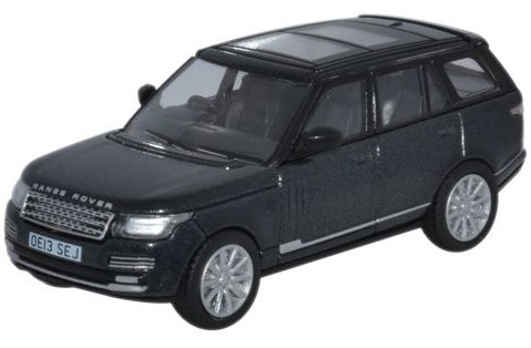 2013 RANGE ROVER in Santorini Black 1/76 scale model OXFORD DIECAST