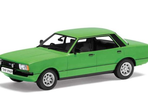 FORD CORTINA Mk4 3.0S in Green 1/43 scale model by Corgi