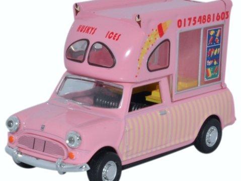 MINI Batman Ice Cream Van - Huskys Ices 1/43 scale model Oxford Diecast