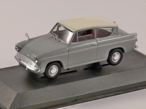 FORD ANGLIA 1200 SUPER in Grey 1/43 scale model CORGI Vanguards