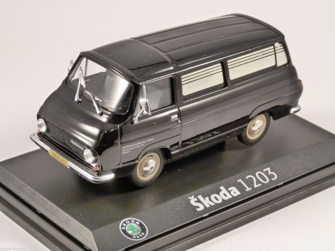 SKODA 1203 HEARSE 1/43 scale model by ABREX