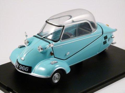 MESSERSCHMITT KR200 Bubble Top in Blue 1/18 diecast model car by OXFORD DIECAST