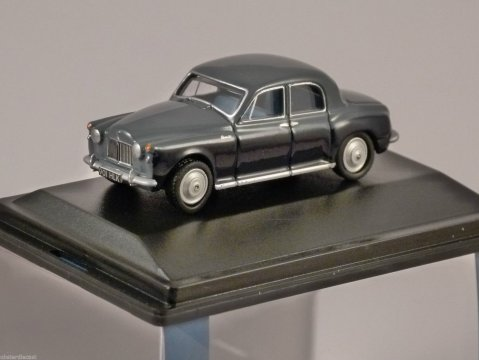 ROVER P4 in Steel Blue / Navy 1/76 scale model OXFORD DIECAST