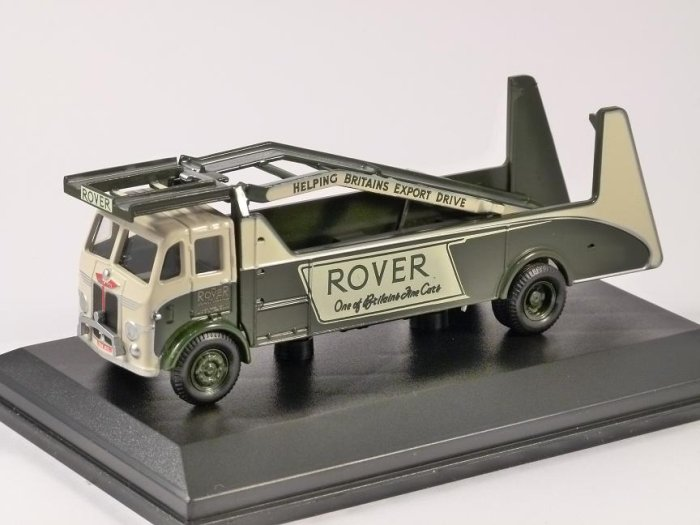 LEYLAND CAR TRANSPORTER - ROVER - 1/76 scale model OXFORD DIECAST