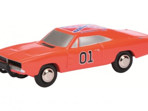 DODGE CHARGER General Lee Dukes Of Hazzard - PICCOLO 1/90 scale model by SCHUCO