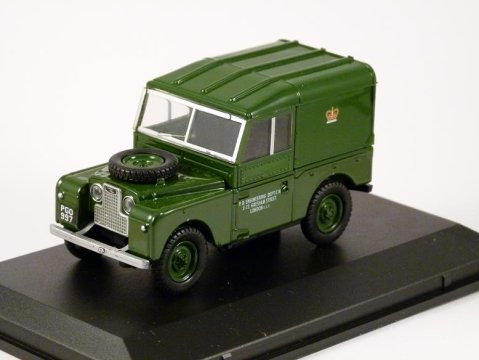 "LAND ROVER S1 ""88 Post Office Telephones 1/43 scale model Oxford Diecast"