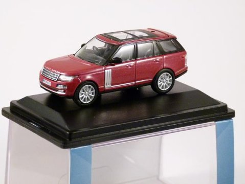2013 RANGE ROVER VOGUE in Firenze Red 1/76 scale model OXFORD DIECAST