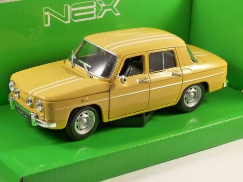 Model - 1964 Renault R8 Gordini in Yellow Manufacturer - Welly Scale - 1:24 (approx 18cm) Packaging - Brand new, boxed. Details - Brand new, superbly detailed by Welly.