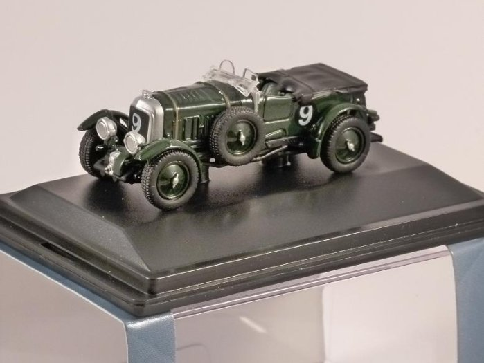 BENTLEY BLOWER Le Mans 1930 1/76 scale model OXFORD DIECAST
