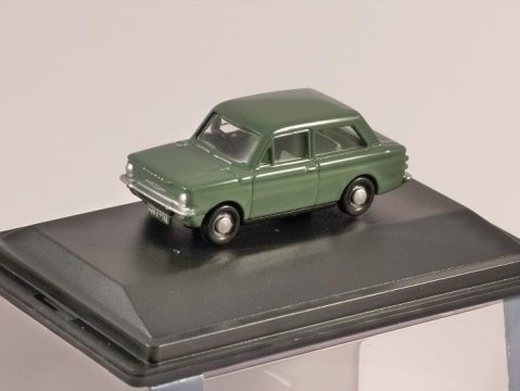 HILLMAN IMP in Green 1/76 scale model OXFORD DIECAST