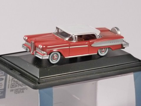 1958 EDSEL CITATION in Ember Red 1/87 scale model OXFORD DIECAST