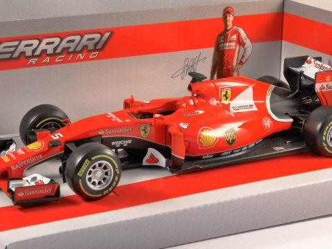 FERRARI SF15-T 2015 Vettel F1 - 1/24 scale model by Burago