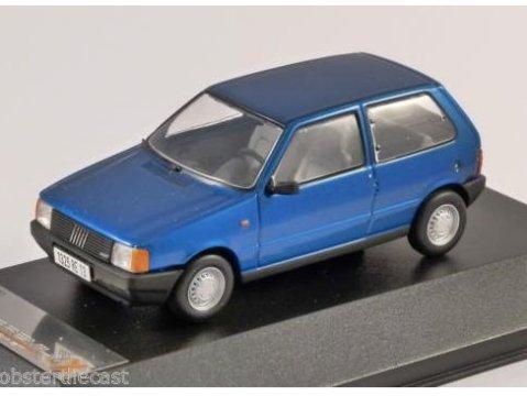 1983 FIAT UNO in Metallic Blue 1/43 scale model by PREMIUM X