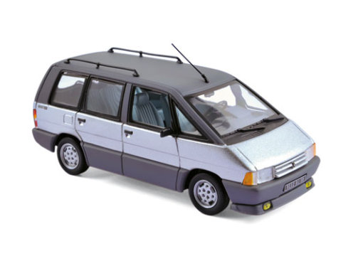 1984 RENAULT ESPACE in Silver 1/43 scale model by Norev