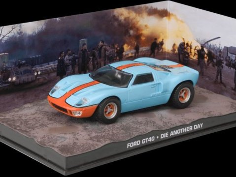 FORD GT40 - Die Another Day - 1/43 scale model James Bond