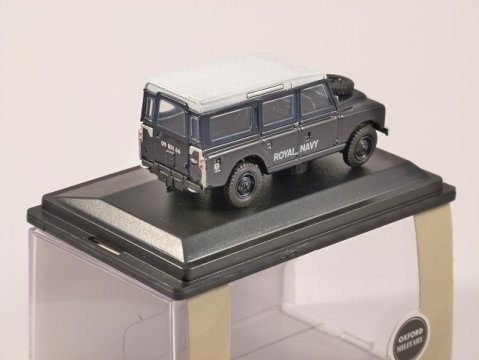 LAND ROVER S2 Station Wagon - Royal Navy - 1/76 scale model OXFORD DIECAST