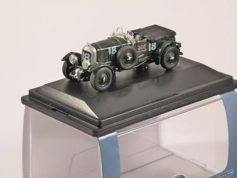 BENTLEY BLOWER French Grand Prix 1930 1/76 scale model OXFORD DIECAST