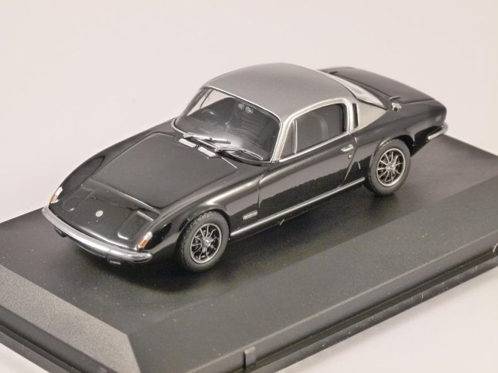 LOTUS ELAN PLUS 2 in Black 1/43 scale model by OXFORD DIECAST
