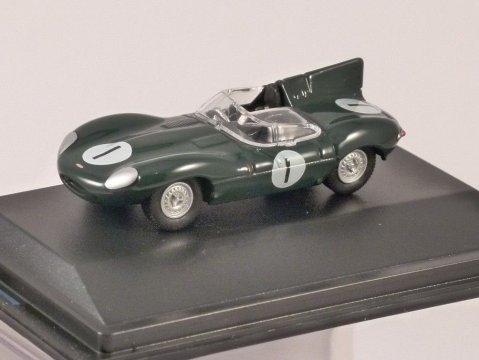 JAGUAR D TYPE Le Mans 1956 1/76 scale model OXFORD DIECAST