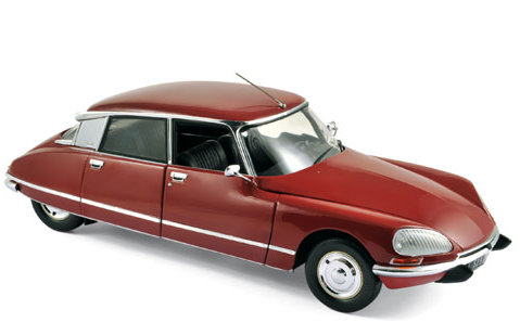 1973 CITROEN DS 23 PALLAS in Massena Red 1/18 scale model by Norev