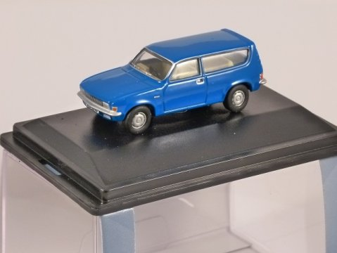 AUSTIN ALLEGRO ESTATE in Tahiti Blue 1/76 scale model OXFORD DIECAST