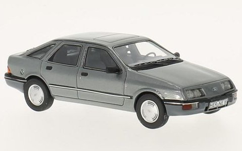 1982 FORD SIERRA Mk1 GHIA in Grey 1/43 scale model NEO