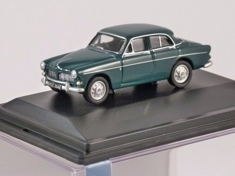 VOLVO AMAZON in Blue Green - 1/76 scale model OXFORD DIECAST