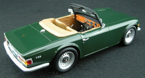 Triumph Tr6 1 18 Scale Resin Model By Ls Collectibles