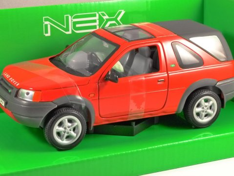 1998 LAND ROVER FREELANDER in Red 1/24 scale model by WELLY