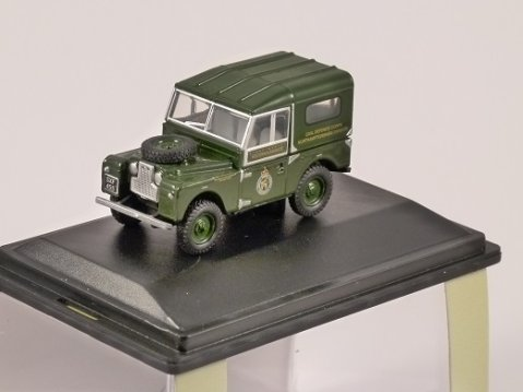 LAND ROVER S1 88 Civil Defence - 1/76 scale model OXFORD DIECAST