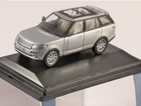 2013 RANGE ROVER VOGUE in Indus Silver 1/76 scale model OXFORD DIECAST