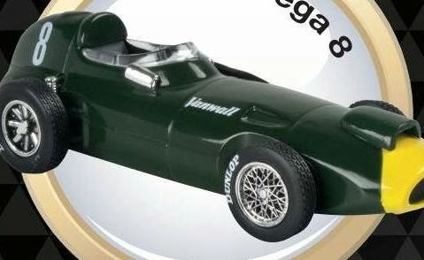 1957 VANWALL VW57 Stirling Moss - Formula 1 - 1/43 scale partwork model