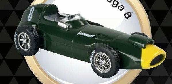 1957 VANWALL VW57 Stirling Moss - Formula 1 - 1/43 scale partwork model
