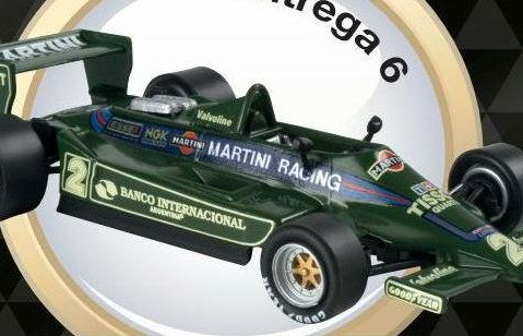 1979 LOTUS 79 Carlos Reutemann - Formula 1 - 1/43 scale partwork model