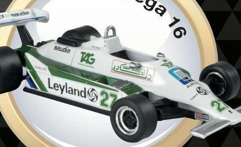 1980 WILLIAMS FW07B Alan Jones - Formula 1 - 1/43 scale partwork model