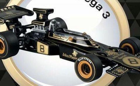 1972 LOTUS 72D Emerson Fittipaldi - Formula 1 - 1/43 scale partwork model