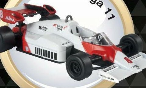 1984 McLAREN MP4/2 Niki Lauda - Formula 1 - 1/43 scale partwork model