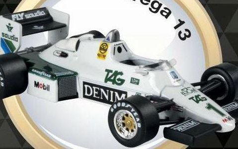 1983 WILLIAMS FW08C Keke Rosberg - Formula 1 - 1/43 scale partwork model
