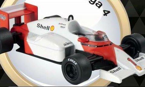 1986 McLAREN MP4/2C Alain Prost - Formula 1 - 1/43 scale partwork model