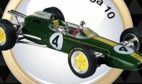 1963 LOTUS 25 Jim Clark - Formula 1 - 1/43 scale partwork model