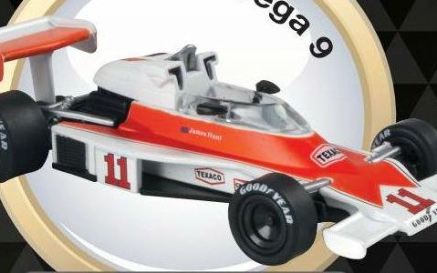 1976 MCLAREN M23 James Hunt - Formula 1 - 1/43 scale partwork model