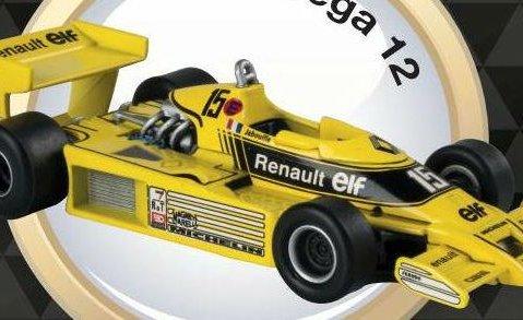 1977 RENAULT RS01 Jean Pierre Jabouille - Formula 1 - 1/43 scale partwork model